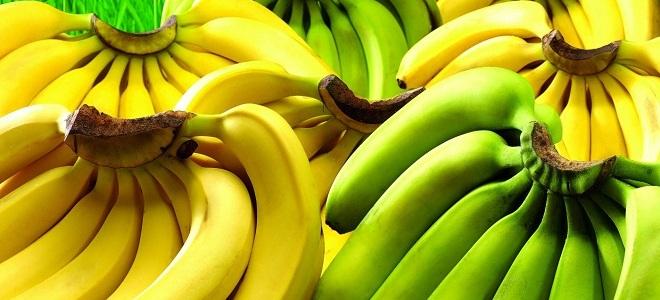 Какие бананы лучше есть - зеленые или желтые?